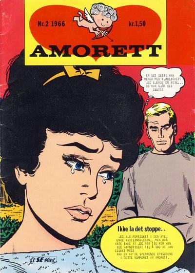 Cover for Amorett (Serieforlaget / Se-Bladene / Stabenfeldt, 1966 series) #2/1966