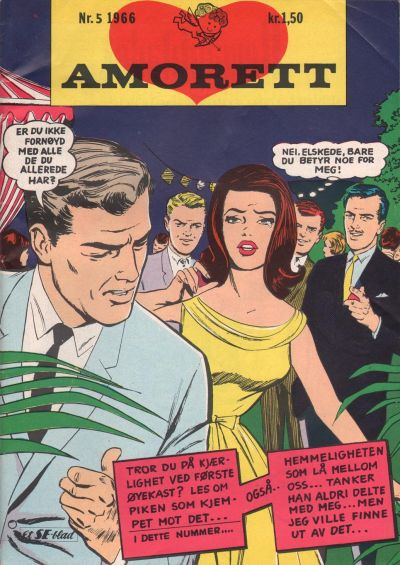 Cover for Amorett (Serieforlaget / Se-Bladene / Stabenfeldt, 1966 series) #5/1966