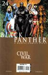 Cover for Black Panther (Marvel, 2005 series) #24