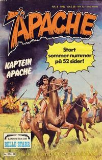 Cover Thumbnail for Apache (Semic, 1980 series) #8/1980