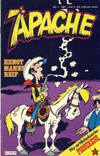 Cover Thumbnail for Apache (Semic, 1980 series) #1/1981