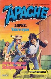 Cover Thumbnail for Apache (Semic, 1980 series) #2/1981