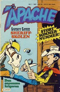 Cover Thumbnail for Apache (Semic, 1980 series) #7/1981