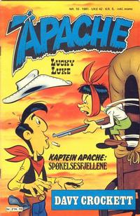 Cover Thumbnail for Apache (Semic, 1980 series) #10/1981