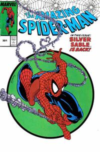 Cover Thumbnail for Amazing Spider-Man: Vol.1, No. 301 [Spider-Man Classics Action Figure Reprint] (Marvel, 2000 series)