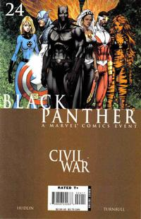 Cover Thumbnail for Black Panther (Marvel, 2005 series) #24