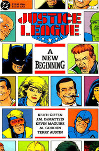 Cover Thumbnail for Justice League: A New Beginning (DC, 1989 series)