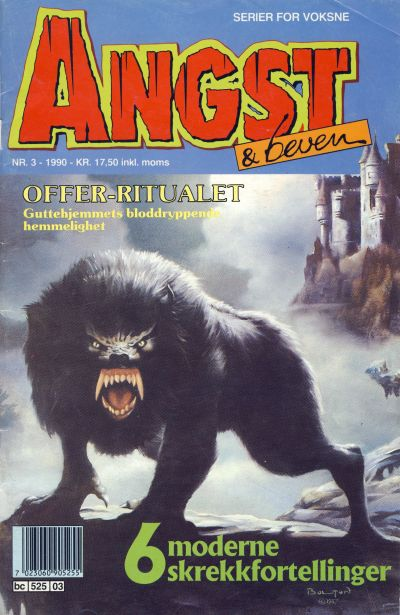 Cover for Angst & beven (Semic, 1990 series) #3/1990