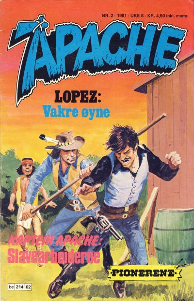 Cover for Apache (Semic, 1980 series) #2/1981