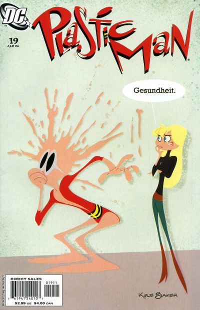 Cover for Plastic Man (DC, 2004 series) #19