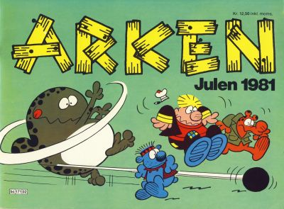 Cover for Arken (Semic, 1980 series) #1981