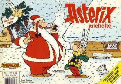Cover for Asterix julehefte (Hjemmet / Egmont, 1990 series) #1990