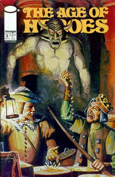 Cover for The Age of Heroes (Image, 1997 series) #3