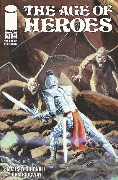Cover for The Age of Heroes (Image, 1997 series) #4