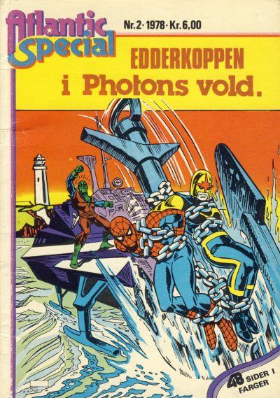 Cover for Atlantic Special [Atlantic Spesial] (Atlantic Forlag, 1978 series) #2
