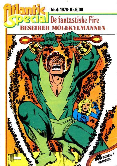Cover for Atlantic Special [Atlantic Spesial] (Atlantic Forlag, 1978 series) #4
