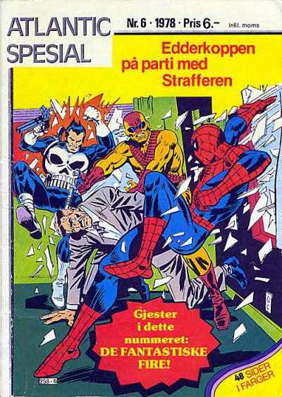 Cover for Atlantic Special [Atlantic Spesial] (Atlantic Forlag, 1978 series) #6