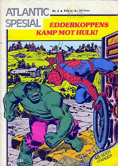 Cover for Atlantic Special [Atlantic Spesial] (Atlantic Forlag, 1978 series) #9