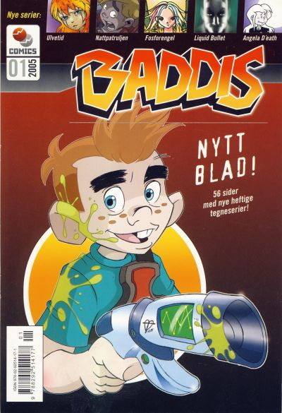 Cover for Baddis (Westwind Forlag, 2005 series) #1