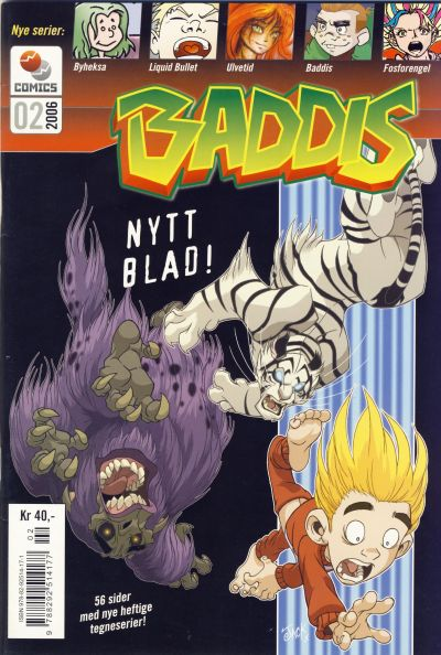 Cover for Baddis (Westwind Forlag, 2005 series) #2