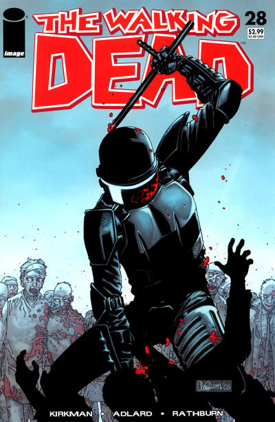 Cover for The Walking Dead (Image, 2003 series) #28