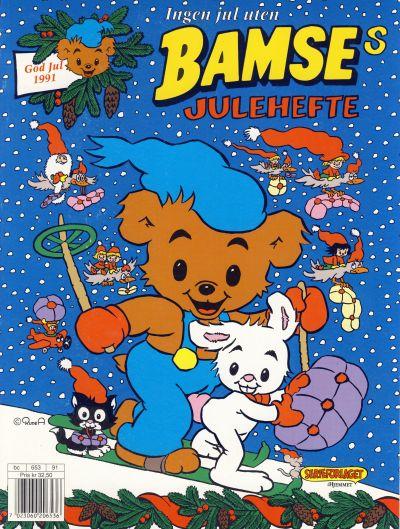 Cover for Bamses Julehefte (Hjemmet / Egmont, 1991 series) #1991