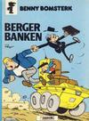Cover for Benny Bomsterk (Semic, 1983 series) #4 - Benny Bomsterk berger banken