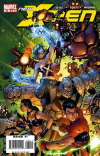 Cover Thumbnail for New X-Men (Marvel, 2004 series) #30