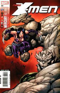Cover Thumbnail for New X-Men (Marvel, 2004 series) #34