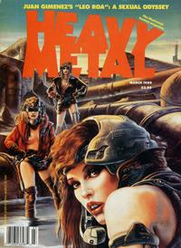 Cover for Heavy Metal Magazine (HM Communications, Inc., 1977 series) #v13#1