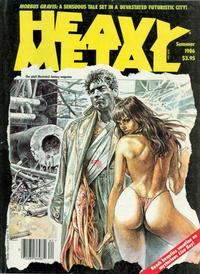 Cover for Heavy Metal Magazine (HM Communications, Inc., 1977 series) #v10#2