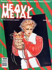 Cover for Heavy Metal Magazine (Heavy Metal, 1977 series) #v11#4