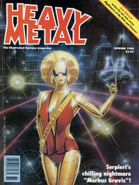 Cover for Heavy Metal Magazine (HM Communications, Inc., 1977 series) #v12#1