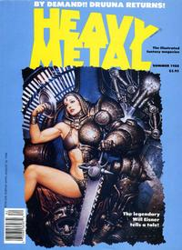 Cover for Heavy Metal Magazine (HM Communications, Inc., 1977 series) #v12#2