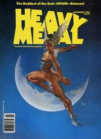 Cover for Heavy Metal Magazine (HM Communications, Inc., 1977 series) #v13#4