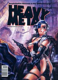 Cover for Heavy Metal Magazine (HM Communications, Inc., 1977 series) #v13#5