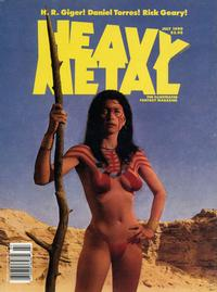 Cover for Heavy Metal Magazine (HM Communications, Inc., 1977 series) #v14#3