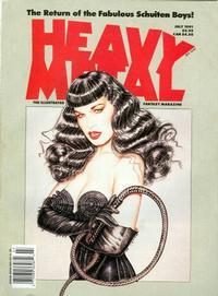 Cover Thumbnail for Heavy Metal Magazine (Heavy Metal, 1977 series) #v15#3