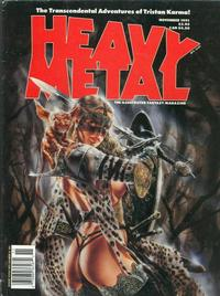 Cover for Heavy Metal Magazine (HM Communications, Inc., 1977 series) #v15#5