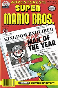 Cover Thumbnail for Adventures of the Super Mario Bros. (Acclaim / Valiant, 1990 series) #6