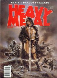 Cover Thumbnail for Heavy Metal Magazine (Metal Mammoth, Inc., 1992 series) #v30#7 [v17#2]