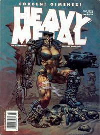 Cover Thumbnail for Heavy Metal Magazine (Metal Mammoth, Inc., 1992 series) #v17#3