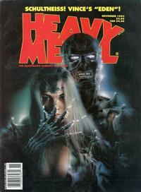 Cover Thumbnail for Heavy Metal Magazine (Heavy Metal, 1977 series) #v18#5 [v17#5]