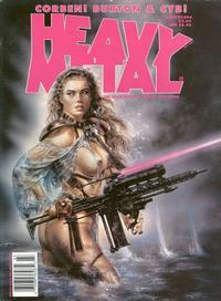 Cover Thumbnail for Heavy Metal Magazine (Metal Mammoth, Inc., 1992 series) #v18#1