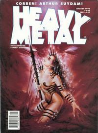 Cover Thumbnail for Heavy Metal Magazine (Heavy Metal, 1977 series) #v18#6