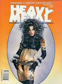 Cover Thumbnail for Heavy Metal Magazine (Metal Mammoth, Inc., 1992 series) #v19#4