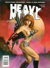 Cover Thumbnail for Heavy Metal Magazine (Heavy Metal, 1977 series) #v21#6
