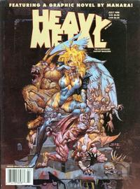 Cover Thumbnail for Heavy Metal Magazine (Heavy Metal, 1977 series) #v22#3