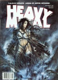 Cover for Heavy Metal Magazine (Heavy Metal, 1977 series) #v22#4