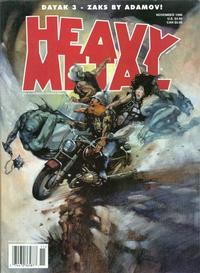 Cover Thumbnail for Heavy Metal Magazine (Heavy Metal, 1977 series) #v22#5